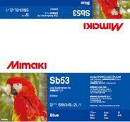 Текстильные чернила SB53 сублимационные 2000 мл Mimaki SB53-BL-2L-1 Blue