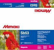 Текстильные чернила SB53 сублимационные 2000 мл Mimaki SB53-M-2L-1 Magenta
