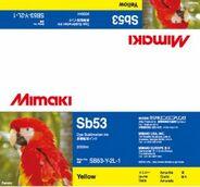 Текстильные чернила SB53 сублимационные 2000 мл Mimaki SB53-Y-2L-1 Yellow