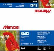 Текстильные чернила SB53 сублимационные 2000 мл Mimaki SB53-K-2L-1 Black