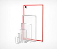 Рамка формата А1 красная