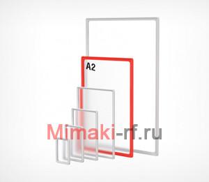 Рамка формата А2 красная