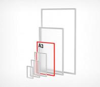 Рамка формата А3 синяя