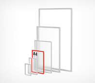 Рамка формата А4 синяя