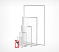 Рамка формата А6 прозрачная