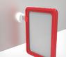 Рамка формата А6 красная