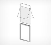 Карман-протектор формат А5 мат.прозр.