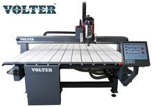 Ширикоформатный фрезерный комплекс VOLER 6016, 6200*1610 рабочее поле. В комплект входит:  вакуумный стол, датчик длины инструмента, косозубые рейки, насадка для удаления стружки.