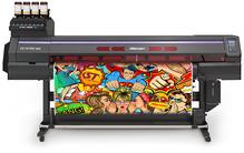 MIMAKI UCJV150-160.  Универсальный UV-LED(C, M, Y, K) плоттер-каттер с возможностью печати и контурной резки. Максимальная ширина печати-резки  1610мм.  Разрешение 300 dpi/1200 dpi, скорость печати до 13,4 м2/час, печатающие головки нового поколения с изм
