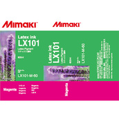 Latex-SUV чернила LX101 латексные 600 мл Mimaki LX101-M-60-1 Magenta