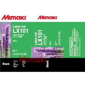 Latex-SUV чернила LX101 латексные 600 мл Mimaki LX101-K-60-1 Black