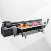 Широкоформатный УФ-принтер HANDTOP HT2500UV-HR8-4M