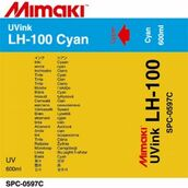 UV чернила LH-100 UV 600 мл Mimaki SPC-0597C Cyan
