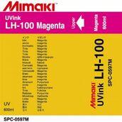 UV чернила LH-100 UV 600 мл Mimaki SPC-0597M Magenta