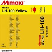 UV чернила LH-100 UV 600 мл Mimaki SPC-0597Y Yellow