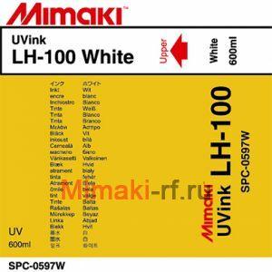UV чернила LH-100 UV 600 мл Mimaki SPC-0597W White