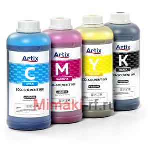 Экосольвентные чернила ARTIX Cyan 1L