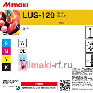 UV чернила LUS-120 1000 мл Mimaki LUS12-C-BA-1 Cyan