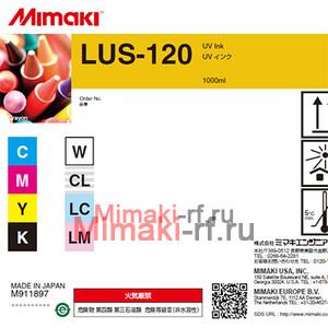 UV чернила LUS-120 1000 мл Mimaki LUS12-W-BA-1 White
