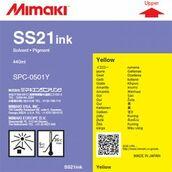 Сольвентные чернила SS21 440 мл Mimaki SPC-0501Y Yellow
