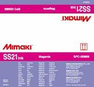 Сольвентные чернила SS21 Bulk 2000 мл Mimaki SPC-0588M Magenta