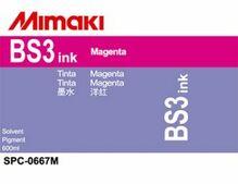 Сольвентные чернила BS3 600 мл Mimaki SPC-0667M Magenta