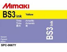 Сольвентные чернила BS3 600 мл Mimaki SPC-0667Y Yellow