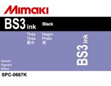 Сольвентные чернила BS3 600 мл Mimaki SPC-0667K Black