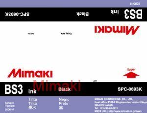 Сольвентные чернила BS3 2000 мл Mimaki SPC-0693K Black