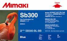 Текстильные чернила SB300 2000 мл Mimaki SB300-BL-BB-1 Blue