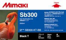 Текстильные чернила SB300 2000 мл Mimaki SB300-KT-BB-1 Black