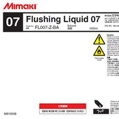 Чистящее средство C-FL007-Z-BA-1 Flushing Liquid 07 1L Bottle 1000ml