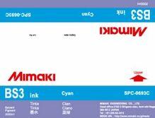 Сольвентные чернила BS3 2000 мл Mimaki SPC-0693C Cyan