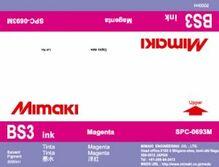 Сольвентные чернила BS3 2000 мл Mimaki SPC-0693M Magenta